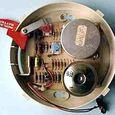 Inside-ionization smoke detector