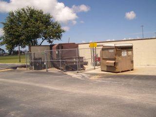 Dumpster: Photo by FL IPM